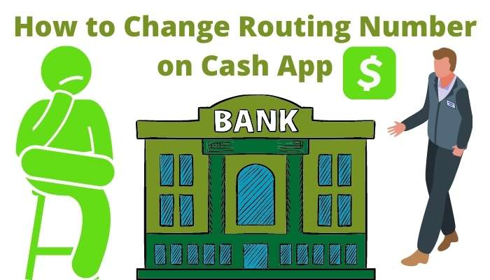 Change Routing Number on Cash App