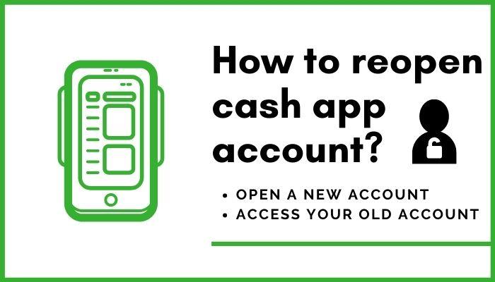 How to reopen cash app account_