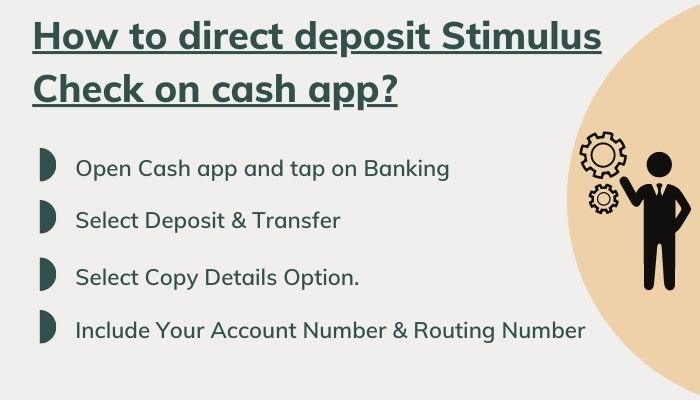 how to get direct deposit stimulus check on cash app