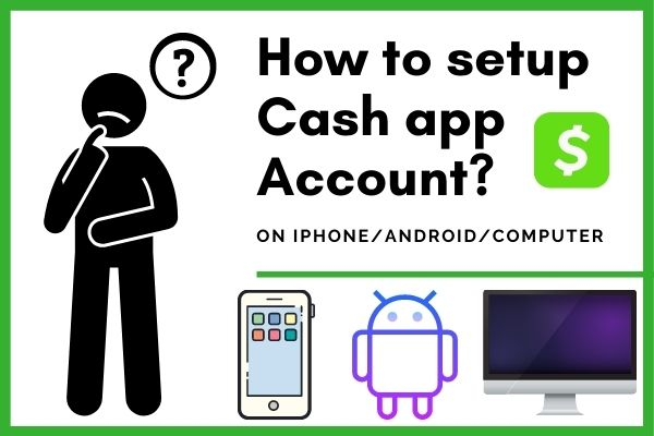 how to setup cash app account