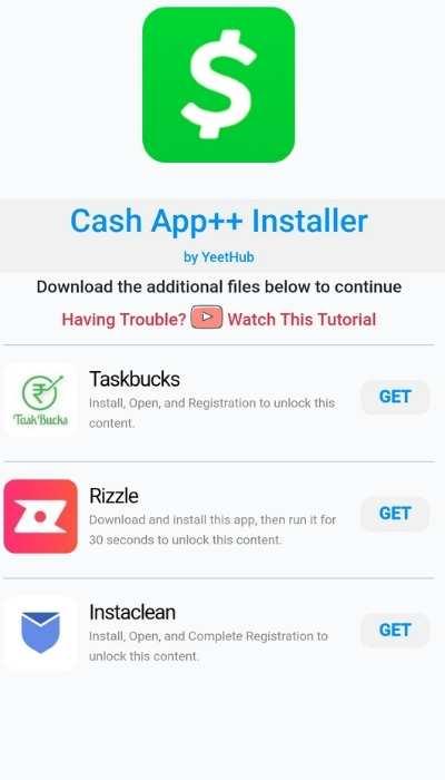 cash app ++ app apk install