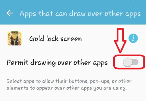 how to use lock screen app