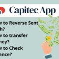 How to Reverse Cash send on Capitec app